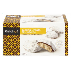 Buy-Achat-Purchase - Geldhof Moka Snowballs 300 gr - Chocolate Gifts - Geldhof