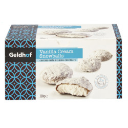Buy-Achat-Purchase - Geldhof Vanilla Chocolate Snowballs 300 gr - Chocolate Gifts - Geldhof
