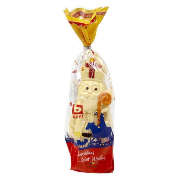 Buy-Achat-Purchase - BONI SELECTION St Nicolas White 180g - Chocolate Gifts - BONI Selection