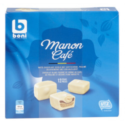 Buy-Achat-Purchase - Boni Selection Manon Coffee 12 pcs 205 g - Chocolate Gifts - BONI Selection