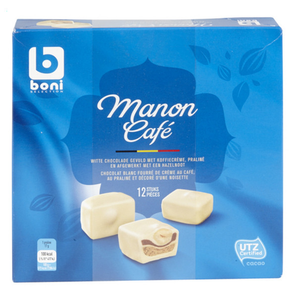 Boni Selection Manon Coffee 12 pcs 205 g - Chocolate Gifts - BONI Selection