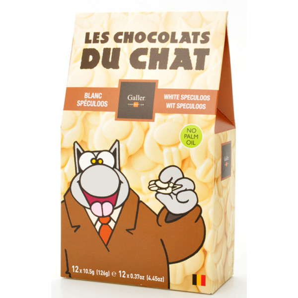 Langues de Chat White Speculoos - Galler -