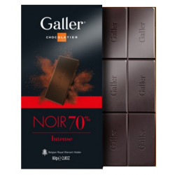 Galler Tablet Noir Intense 70 % - Galler - Galler