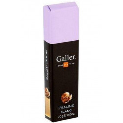 Buy-Achat-Purchase - Galler Praline Blanc 70g - Galler - Galler