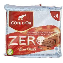 Cote d'Or - Meurisse Zero Milk-Lait 4x50g - Cote d'Or - Cote D'OR