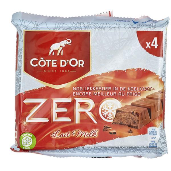 Buy-Achat-Purchase - Cote d'Or - Meurisse Zero Milk-Lait 4x50g - Cote d'Or - Cote D'OR