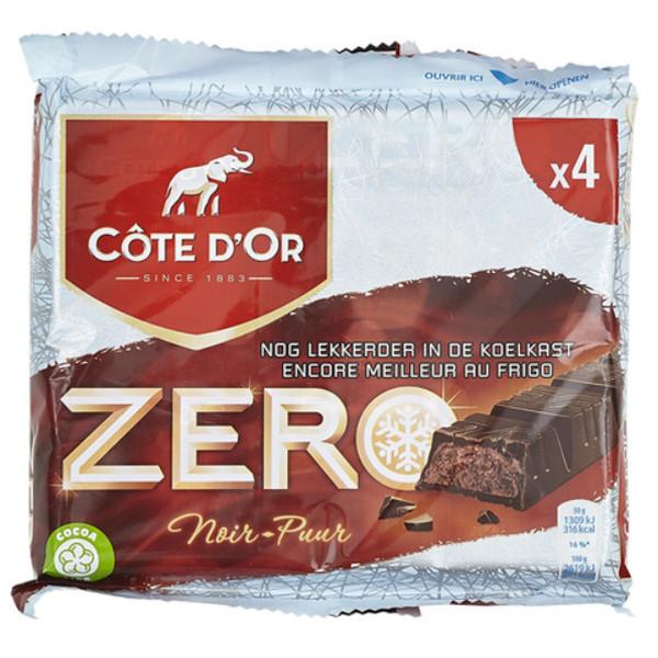 Cote d'Or - Meurisse Zero Fondant -Pure 4x50g - Cote d'Or - Cote D'OR