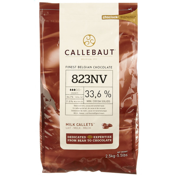 Buy-Achat-Purchase - CALLEBAUT Callets Select 823 MELK 2,5 kg - Jacques-Callebaut -