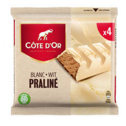 Buy-Achat-Purchase - Cote d'Or White-Blanc Praline 4x45g - Cote d'Or - Cote D'OR