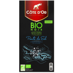 Buy-Achat-Purchase - Côte d'Or BIO Pointe de Sel 90g - Cote d'Or - Cote D'OR