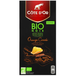 Côte d'Or BIO Orange Corsée 90g - Cote d'Or - Cote D'OR