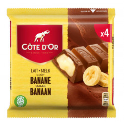 Buy-Achat-Purchase - Cote d'Or Banane 4x47,5g - Cote d'Or - Cote D'OR
