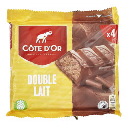 Cote d'Or Dobble Milk - Double Lait 4x46g - Cote d'Or - Cote D'OR