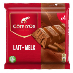 Buy-Achat-Purchase - Cote d'Or Milk - Lait 4x47g - Cote d'Or - Cote D'OR