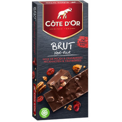 Buy-Achat-Purchase - COTE D'OR Brut black pecan 180g - Cote d'Or - Cote D'OR