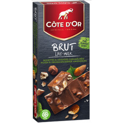 COTE D'OR Brut Hazelnut-Almond milk 180g - Cote d'Or - Cote D'OR