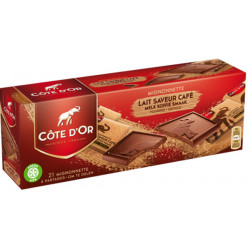Buy-Achat-Purchase - Côte D'Or Mignonnettes lait-café 210 g - Cote d'Or - Cote D'OR