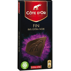 Côte d'Or Sensations Brut 86% cacao 100g - Cote d'Or - Cote D'OR