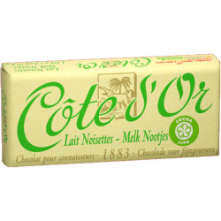 Buy-Achat-Purchase - Côte d'Or Milk Hazelnuts Lait Noisettes 2x75g - Cote d'Or - Cote D'OR