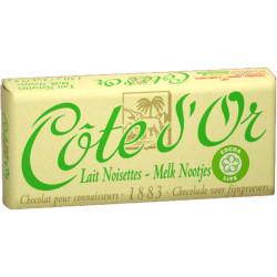 Côte d'Or Milk Hazelnuts Lait Noisettes 2x75g - Cote d'Or - Cote D'OR