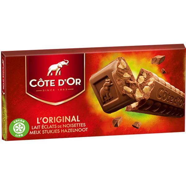Côte d'Or Milk Hazelnuts-Lait Noisettes 2x200g - Cote d'Or - Cote D'OR