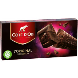 Buy-Achat-Purchase - Cote d'Or Noir de Noir 400g - Cote d'Or - Cote D'OR