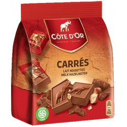 Buy-Achat-Purchase - Cote d'Or Carré Lait Noisettes - Cote d'Or - Cote D'OR