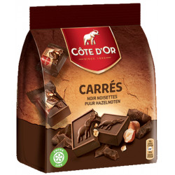 Buy-Achat-Purchase - Cote d'Or Carré Noir Noisettes - Cote d'Or - Cote D'OR