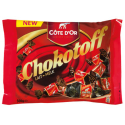 COTE D'OR Chokotoff milk chocolate 500 g - Cote d'Or - Cote D'OR