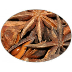 Buy-Achat-Purchase - Star Anise (whole) in 1Kg (2.2LB) bag - Brewing Spices -