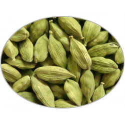 Cardamom Green Fruit in 1 kg bag - Brewing Spices -