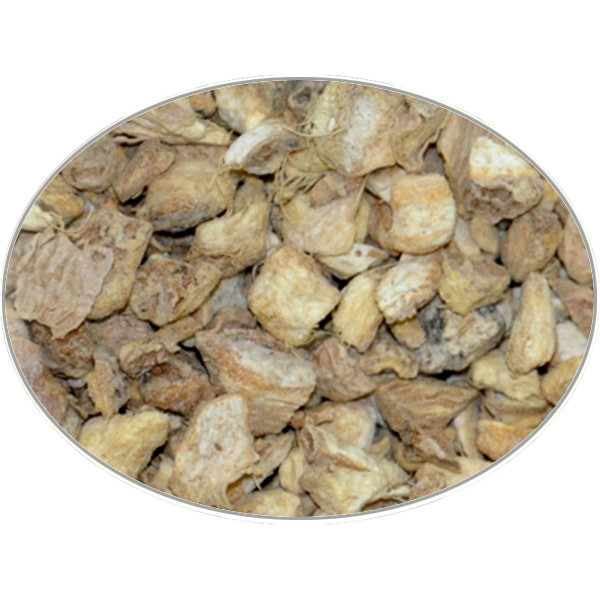 Buy-Achat-Purchase - Ginger Root (Chopped) in 1Kg (2.2LB) bag - Brewing Spices -