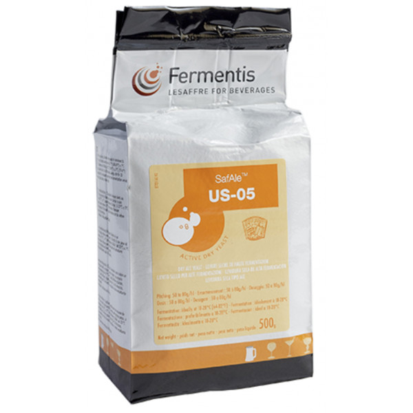 Buy-Achat-Purchase - FERMENTIS SafAle US-05 - 500g - Home Brewing - Fermentis
