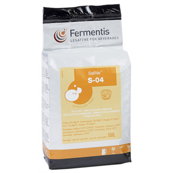 Buy-Achat-Purchase - FERMENTIS SafAle S-04 - 500g - Home Brewing - Fermentis