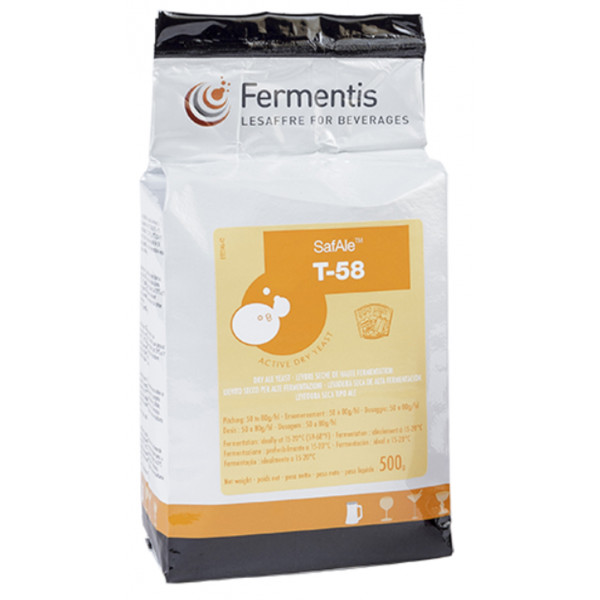 Buy-Achat-Purchase - FERMENTIS SafAle T-58 - 500g - Home Brewing - Fermentis
