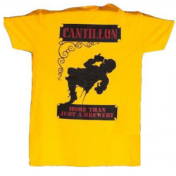 Cantillon T-Shirt Yellow & Black - Merchandising  -