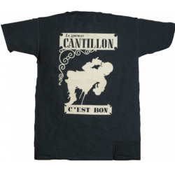 Cantillon T-Shirt Dark Grey with Ecru - Merchandising  -