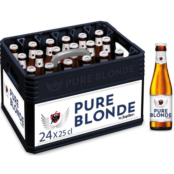 Pure Blonde By Jupiler CRATE 24x25cl - Pils - AB-Inbev