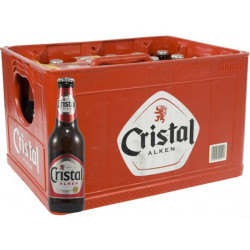 Buy-Achat-Purchase - Cristal Alken Pils 5° CRATE 24x25cl - Pils -