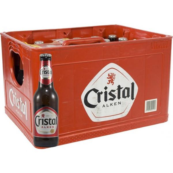 Buy-Achat-Purchase - Cristal Alken Pils 5° CRATE 24x25cl - Pils -