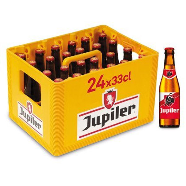 Buy-Achat-Purchase - Jupiler 5.2° CRATE 24 X 33cl - Crates (15% discount) - AB-Inbev