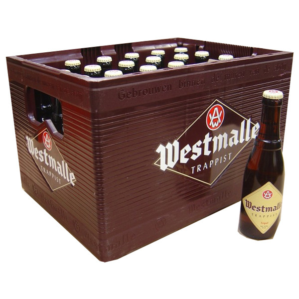 Westmalle Triple 9° CRATE 24x33cl - Crates (15% discount) -