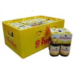 Buy-Achat-Purchase - St Feuillien blond 7.5° CRATE 24x33cl - Crates (15% discount) -