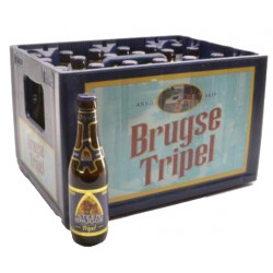 Buy-Achat-Purchase - SteenBrugge Triple 8,5° CRATE 24x33cl - Crates (15% discount) -