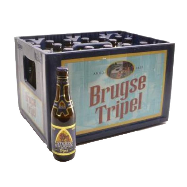 SteenBrugge Triple 8,5° CRATE 24x33cl - Crates (15% discount) -