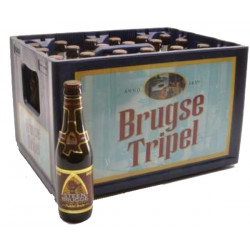 Buy-Achat-Purchase - Steenbrugge Dubbel 6,5° CRATE 24x33cl - Crates (15% discount) -