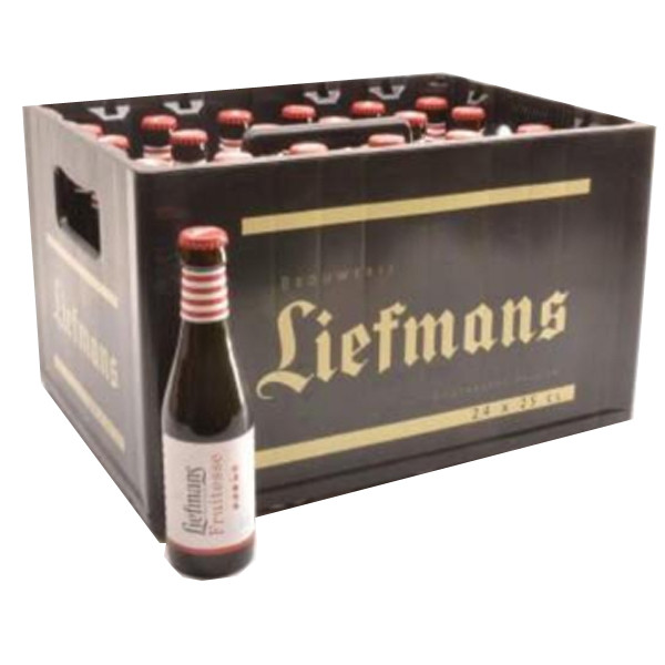 Buy-Achat-Purchase - Liefmans Fruitesse Kriek 3,5° CRATE 24x25cl - Crates (15% discount) -