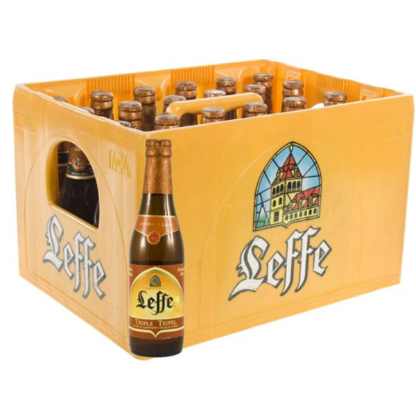 Leffe Triple 8.4° CRATE 24x33cl - Crates (15% discount) - Leffe