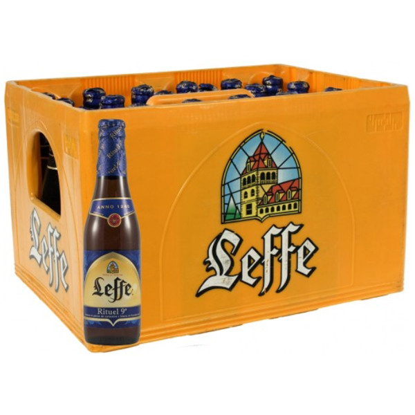 Buy-Achat-Purchase - Leffe Rituel 9° CRATE 24x33cl - Crates (15% discount) - Leffe