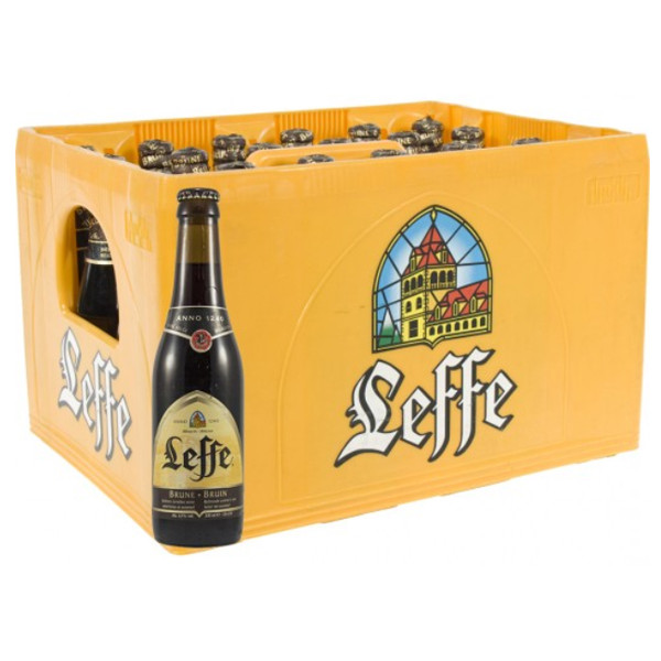 Buy-Achat-Purchase - Leffe Brune 6.5° CRATE 24x33cl - Crates (15% discount) - Leffe